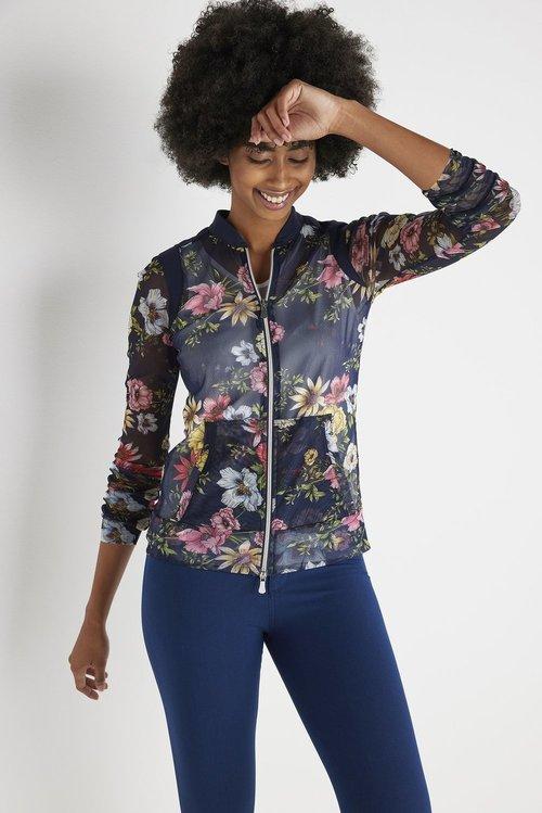 Svana Mesh Printed Jacket