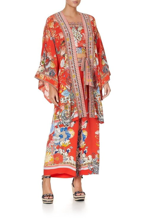 Kimono w/ Tie Belt
