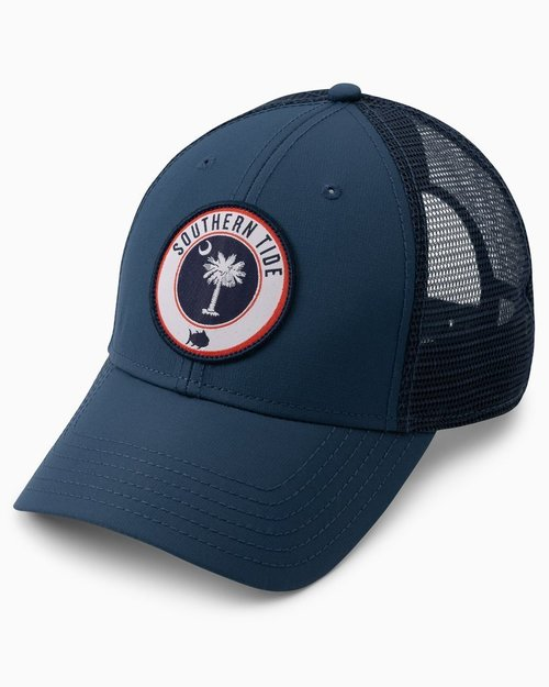 Southern Tide SC Patch Perf Truck Hat