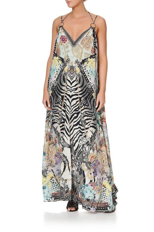 Ring Detail Strap Dress