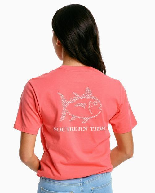 Southern Tide Coral SS Tee