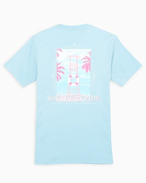 Southern Tide Clear Blue SS Lifeguard Tee