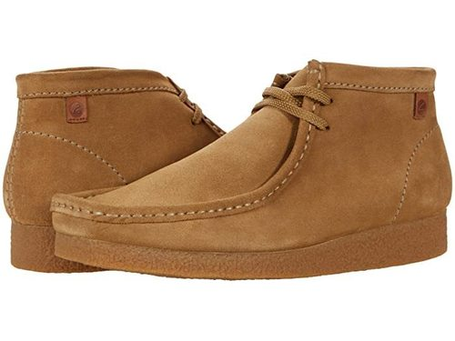 Clarks Shacre Boot Dark Sand Suede