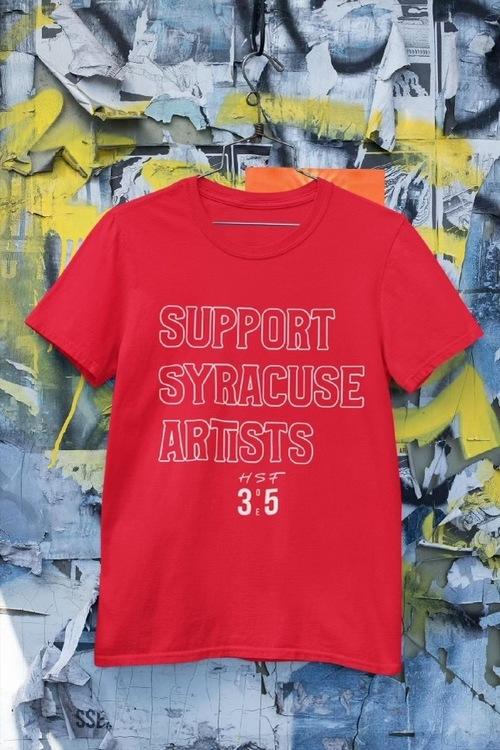 3 One 5 Support Syracuse Artist Tee