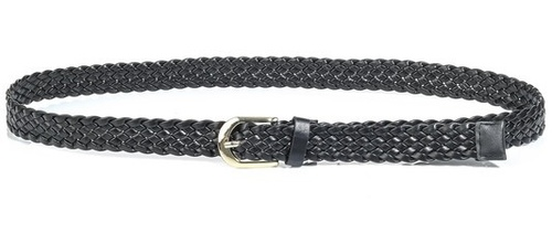 Must Have Casual Belt Black Braided
