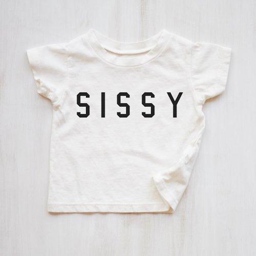 Kids Sissy Tee White