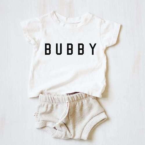 Kids Bubby Tee White
