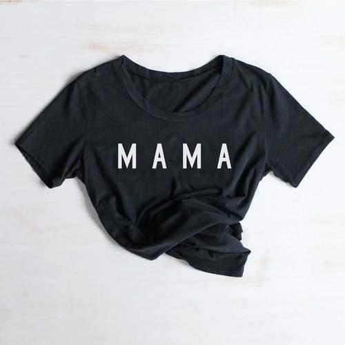 Mama Tee Black