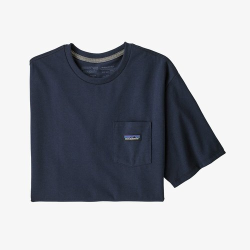 Patagonia M's P-6 Label PKT Tee New Navy