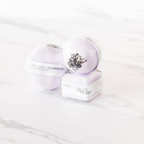 Lavender & Palmarosa Bath Bomb