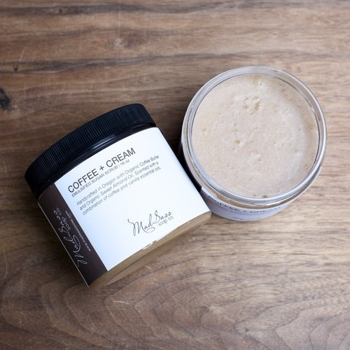 Coffee & Cream Emulsified Sugar Scrub