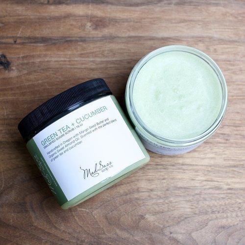 Green Tea & Cucumber Emulsified Sugar Scrub