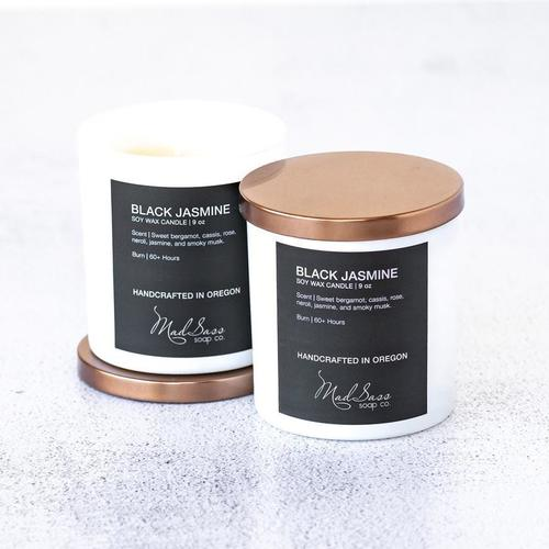 Black Jasmine 9 oz Candle