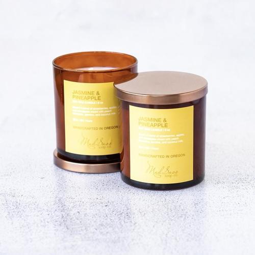 Jasmine & Pineapple 9 oz Candle