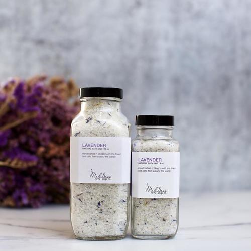 Lavender 16 oz Bath Salt