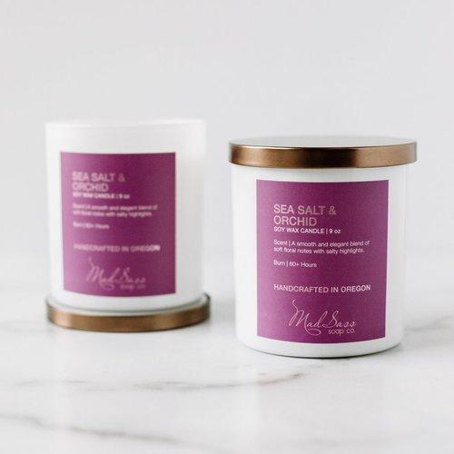 Sea Salt & Orchid 9 oz Candle