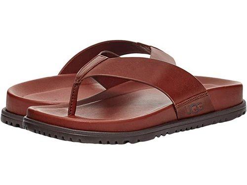 UGG M Wainscott Flip Cognac Leather