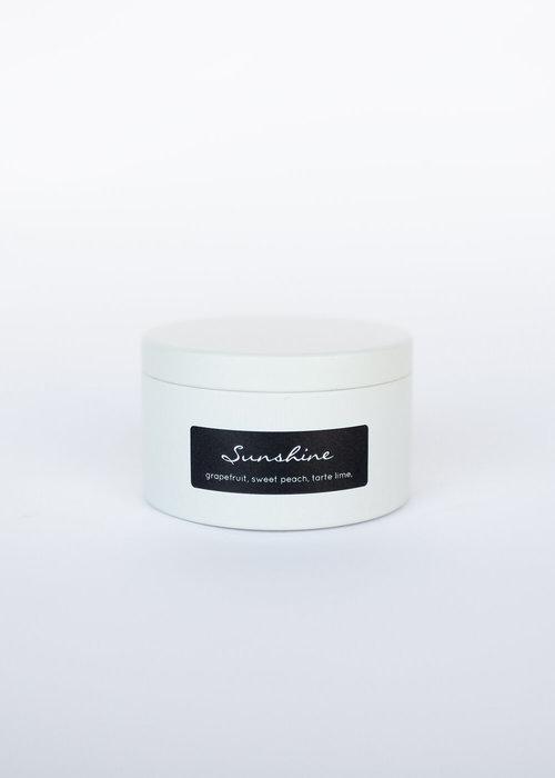 French Wicks 10 oz Sunshine Cream Tin Candle