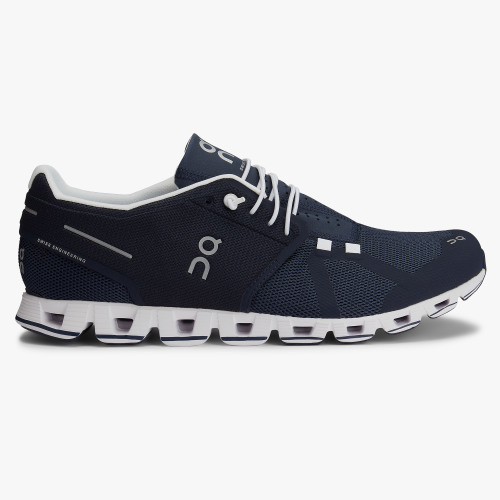 ON M's Cloud. Navy/White