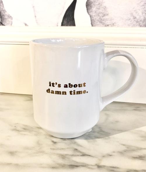 Damn Time Mug