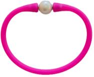 Maui Bracelet Freshwater Pearl- Tropical Pink