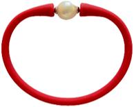 Maui Bracelet Freshwater Pearl- Crimson