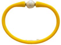 Maui Bracelet Freshwater Pearl- Yellow