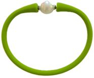 Maui Bracelet Freshwater Pearl- Lime