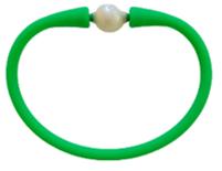 Maui Bracelet Freshwater Pearl- Neon Green