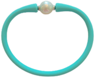 Maui Bracelet Freshwater Pearl- Aqua