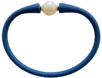 Maui Bracelet Freshwater Pearl- Navy