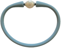 Maui Bracelet Freshwater Pearl- Powder Blue