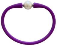 Maui Bracelet Freshwater Pearl- Purple
