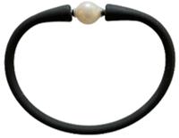 Maui Bracelet Freshwater Pearl- Black