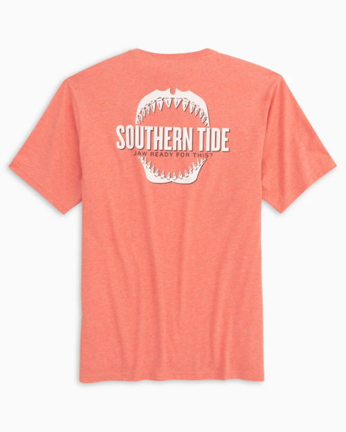 M SS Jaw Ready For This Tee Heather Coral