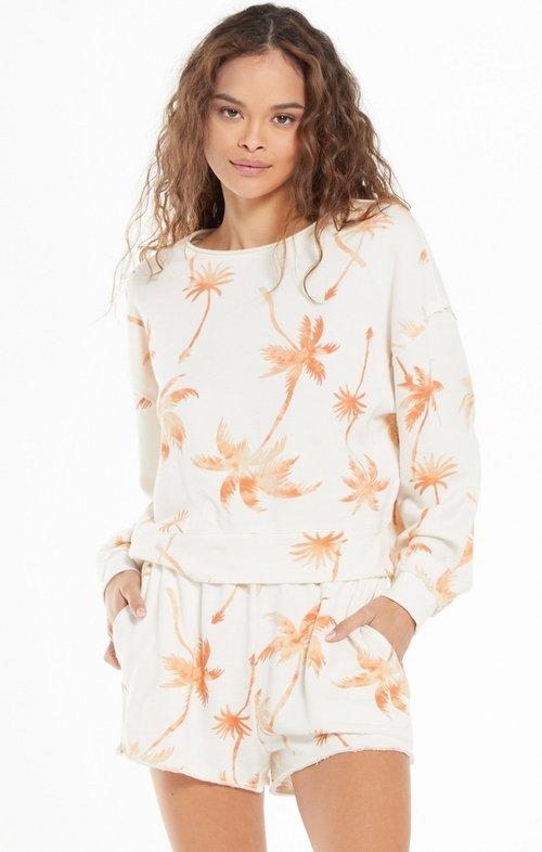 Kai Tropical Sweatshirt Cantaloupe