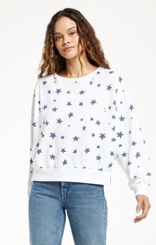 Marella Star Pullover White
