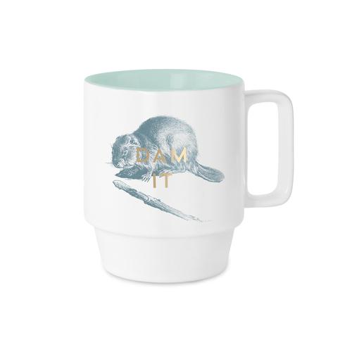 Dam It Beaver Ceramic Mug