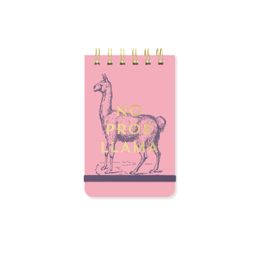 No Prob Llama Wire Notepad