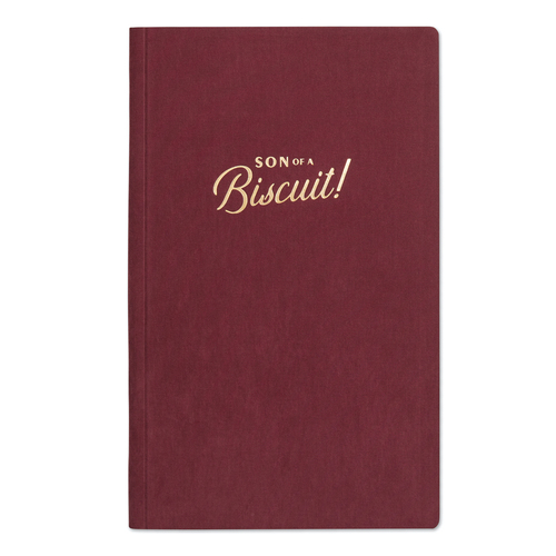 Son Of A Biscuit Hardcover Book Bound Burgundy