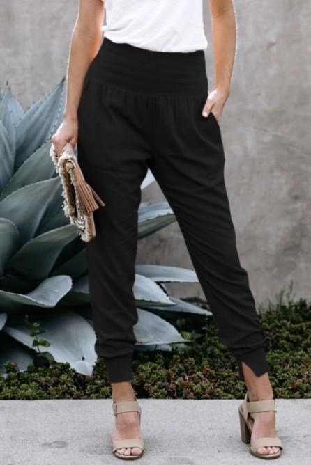 Joggers W/ Pockets Black
