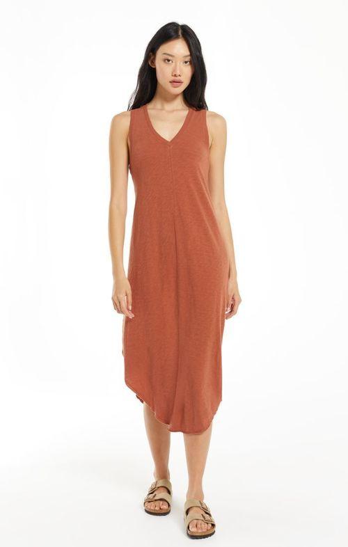 The Reverie Dress Russet