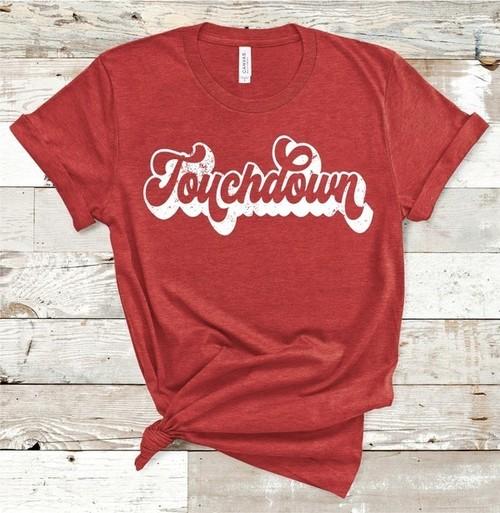 Touchdown Tee Crimson