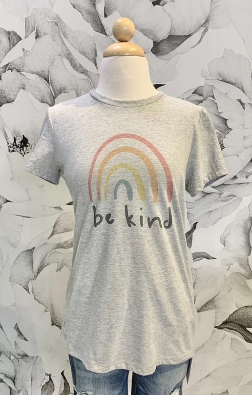 Be Kind Tee Light Grey