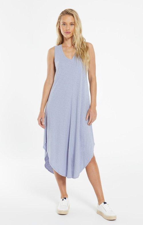 The Reverie Dress Lavender Grey