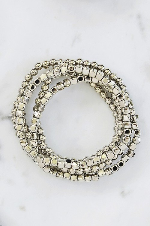 Ashley Silver Assorted Bracelets
