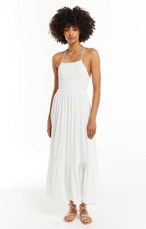 Jazmin Maxi Dress White
