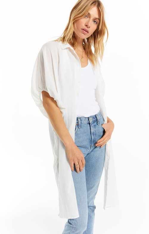 Laina Maxi Cover Up White