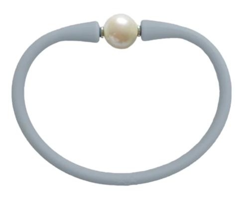 Maui Bracelet Freshwater Pearl- Grey Lady