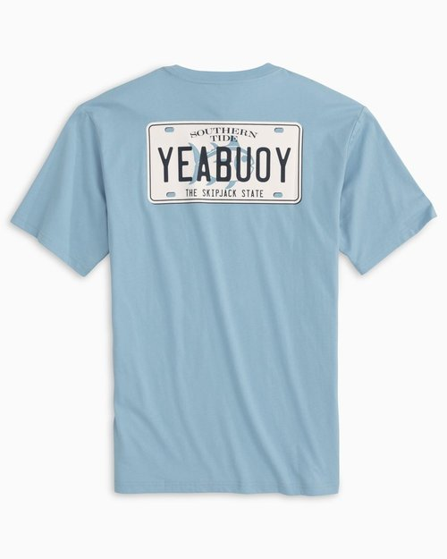 Southern Tide M SS YeaBuoy License Plate Tee